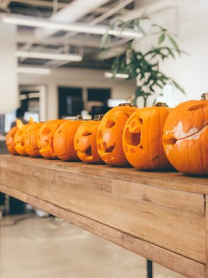Carousel pumpkincarving