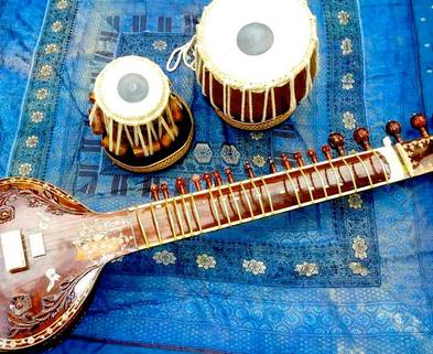 Medium sitar tabla