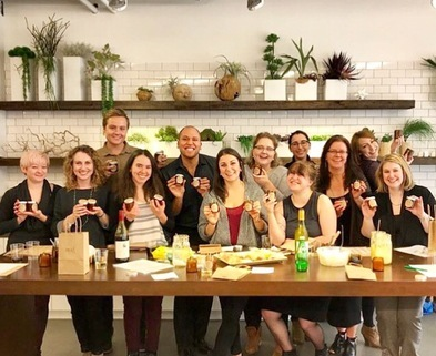 Medium candlemaking class dabble real soaps chicago