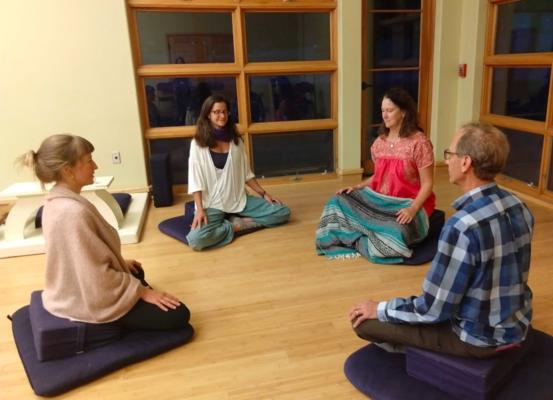Carousel meditation dabble denver make friends