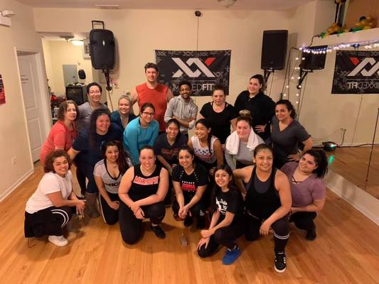 Carousel mixxed fit group dance dabble halloween