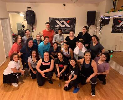Medium mixxed fit group dance dabble halloween