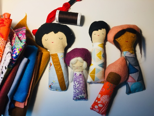 Carousel doll class pic