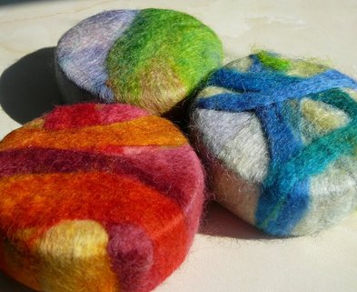 Medium felted soap the works seattle dabble
