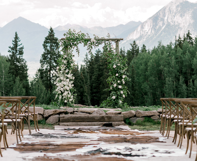 Medium sq crested butte wedding planner amazing wedding view in colorado