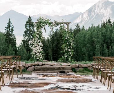 Medium sq crested butte wedding planner amazing wedding view in colorado
