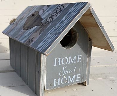Medium bird house front