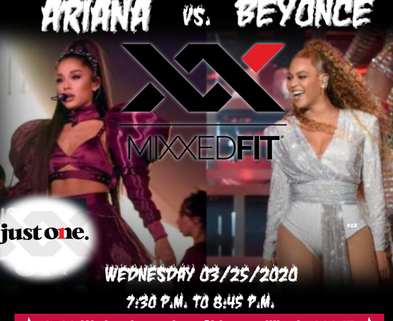 Medium ariana vs beyonce   made with postermywall  3