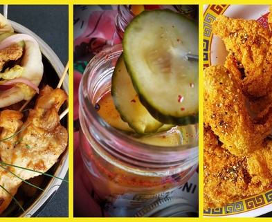 Medium stevenbs fried chicken trio