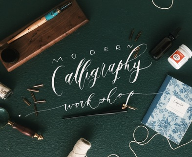 Medium modern calligrapy workshop