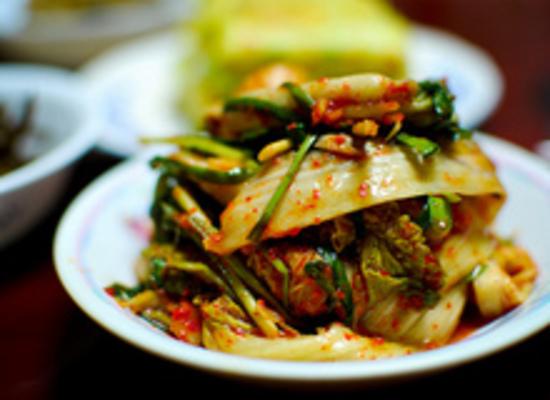 Carousel kimchi