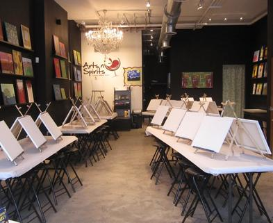 Painting classes chicago byob painting dabble for Painting class chicago