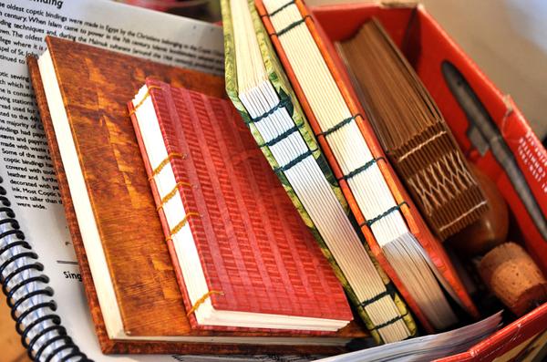 Carousel bookbinding