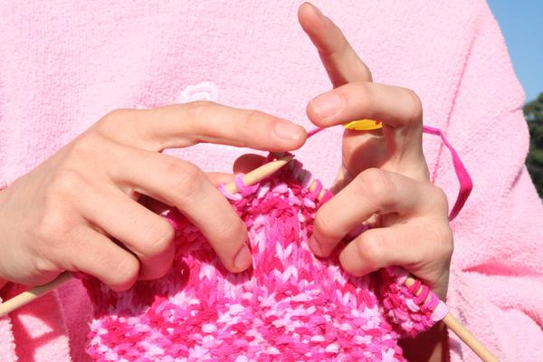 Carousel knitting
