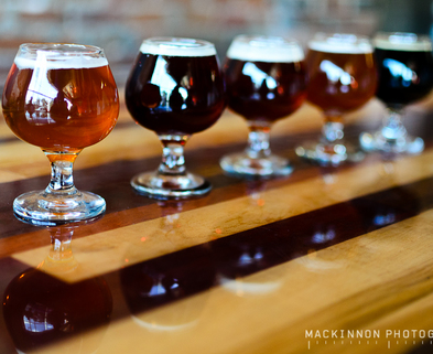 Medium beer tasting