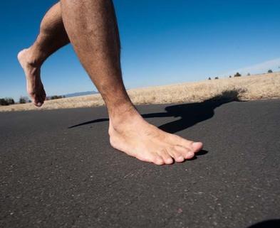 Medium barefoot