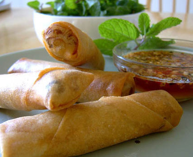 Medium cooking springrolls
