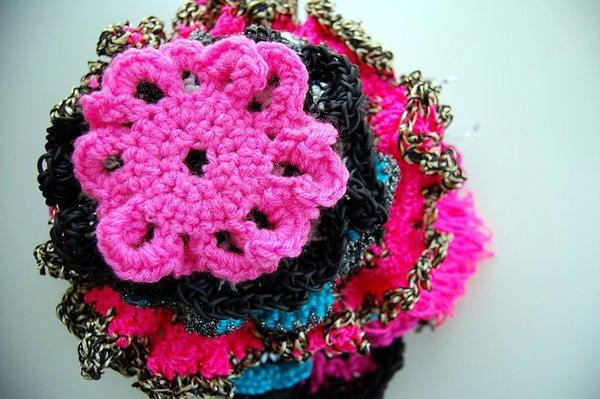 Carousel textiles crochet