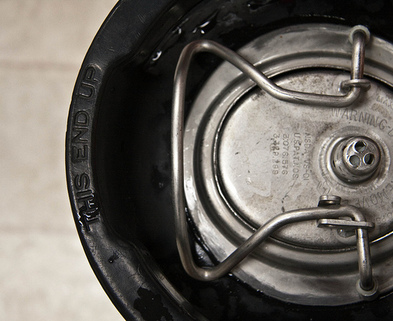 Medium beer kegging