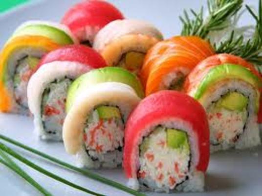 Carousel dabble sushi class