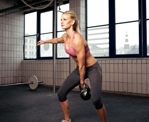 Carousel weight training for women