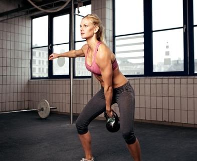 Medium weight training for women