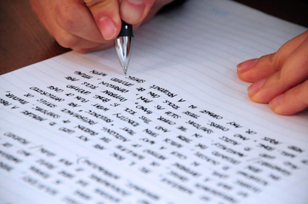 Carousel creative writing