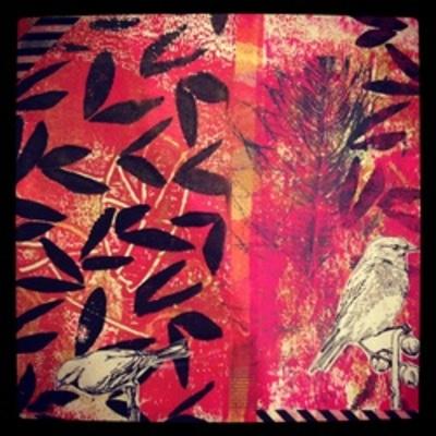Carousel printandcollage