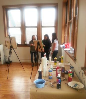Painting classes chicago modern painting what you for Painting class chicago