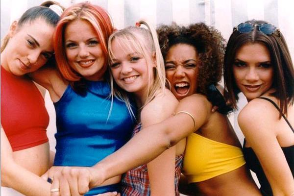 Carousel spice girls then