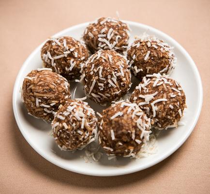 Carousel chocolate truffles