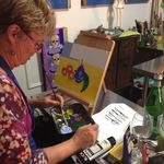 Acrylic painting byob classes chicago beginning for Painting class chicago