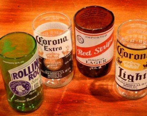 Carousel beerbottleglasses