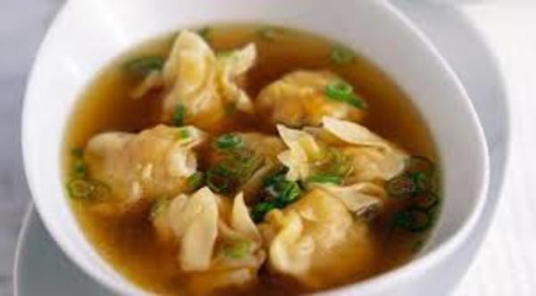 Carousel wonton soup