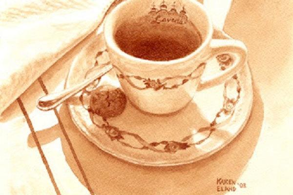 Carousel karen eland coffee paintings6