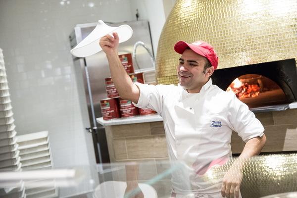 Carousel pizza napoletana davide spinning galdones photography chicago