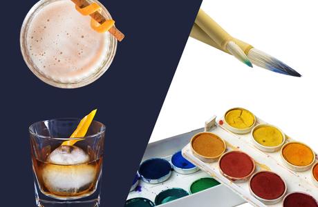 Medium watercolors and whiskey v 4  1