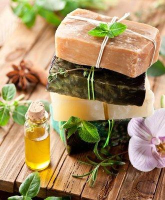 Carousel natural soap