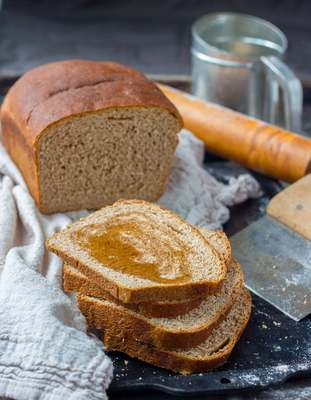 Carousel whole wheat bread 1 4