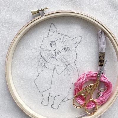 Carousel argaman defiance pet embroidery workshop 2