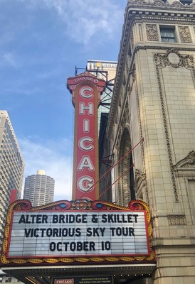 Carousel chicago marquee