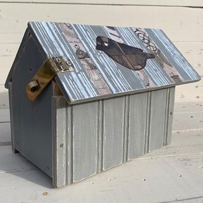 Carousel bird house back