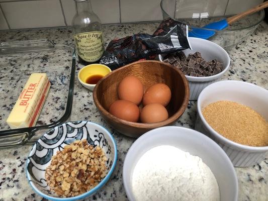 Carousel brownie ingredients