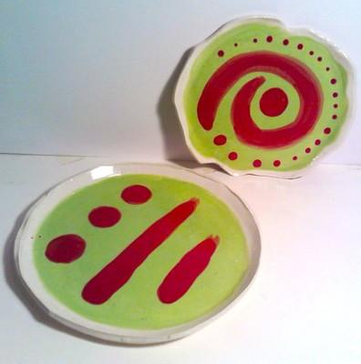 Carousel dabble bright plates