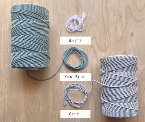 Carousel melisajoy geometricmacrame mischief  rope selection