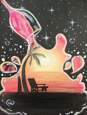 Carousel splash of paradise