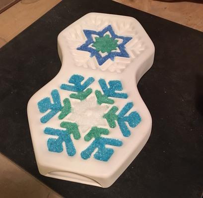 Carousel snowflake ornament 4