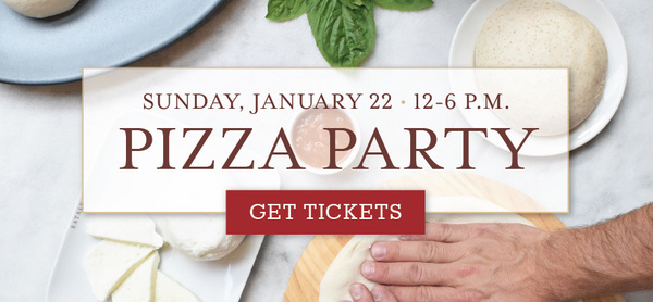 Carousel pizza party slider