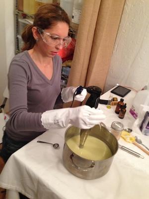 Carousel ny aroma fern soap class 10
