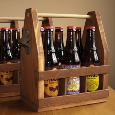Carousel bottle carrier woodworking